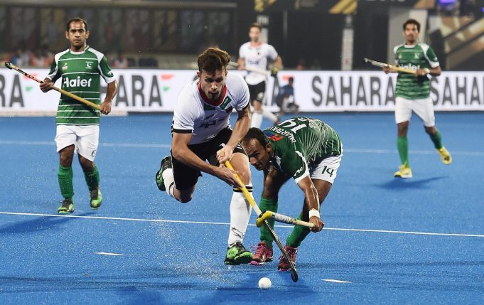 Fighting Pakistan lose 0-1 to Germany in Hockey World Cup