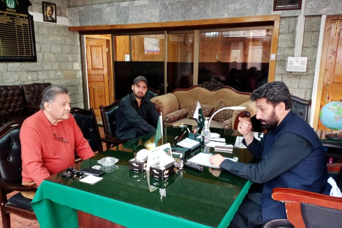 PresidentPakistan Hockey Federation Khalid Sajjad Khokhar called on theChief Minister of Gilgit-BaltistanMir Afzal
