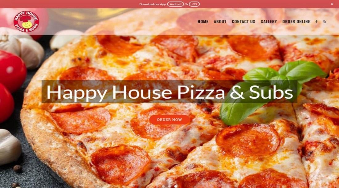Happy house pizza