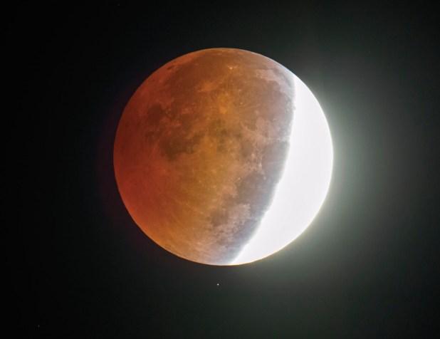 Lunar eclipse Horne
