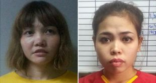 Kim Jong-nam death Two women charged murder VX