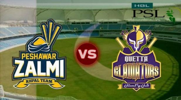 PSL Quetta Peshawar foresight match day