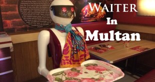 Robotic Waiter In Multan