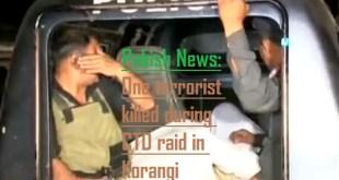 CTD raid in Korangi, one terrorist killed