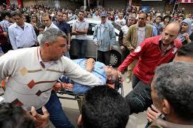 Blasts two churches Egypt