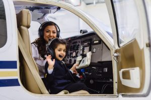 Female pilot began journey around world1