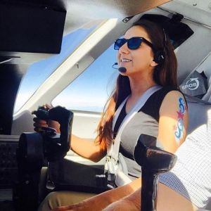 Female pilot began journey around world6