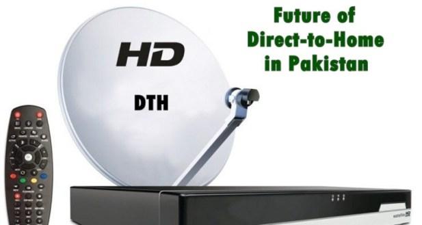 Pakistan DTH 1st service