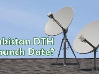 Pakistan DTH Launch Date