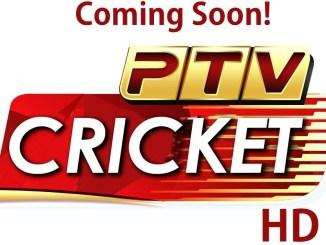 PTV Cricket HD Coming soon