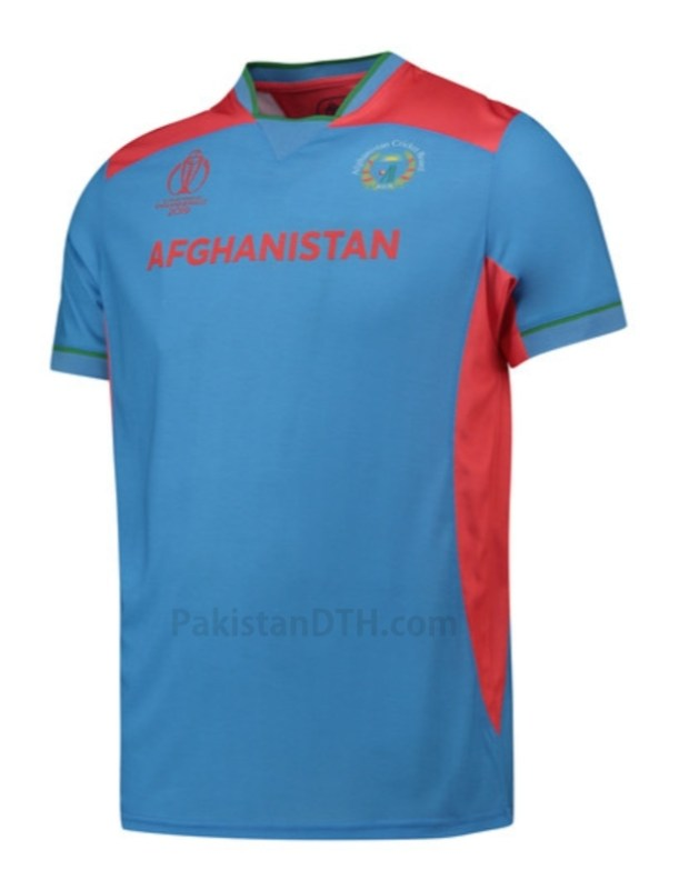 Afghanistan Kit for Cricket World Cup 2019