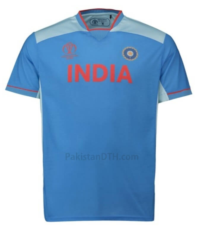 India Kit for Cricket World Cup 2019