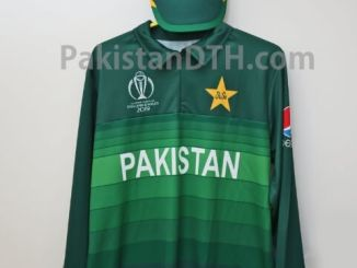 Pakistan Official Kit for ICC Cricket World Cup 2019