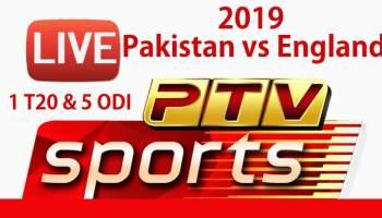 Pakistan vs England ODI Series 2019 - Schedule, Live Streaming