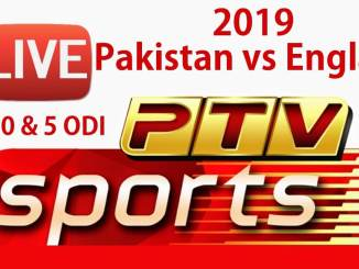 Pakistan vs England 2019 ODI and T20 Live on PTV Sports