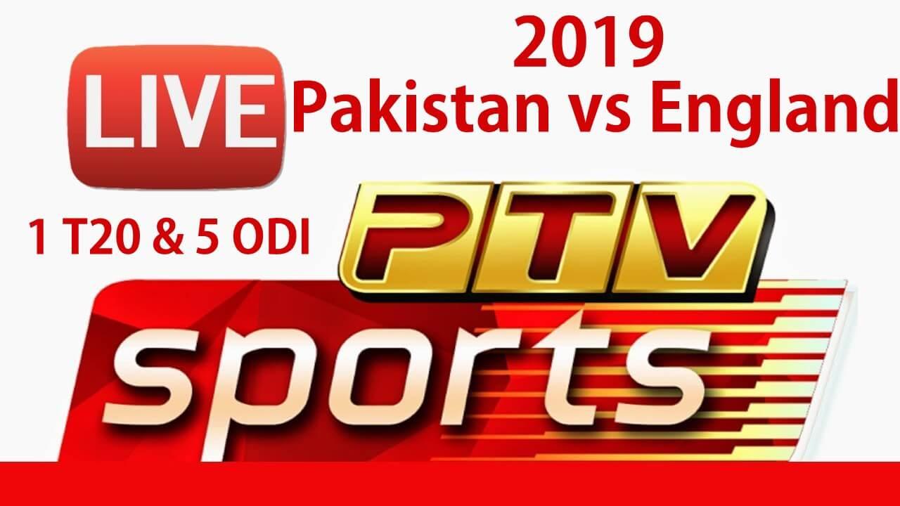 PTV Sports to Broadcast PAK v ENG 2019 only T20 and ODI Series  [FTA