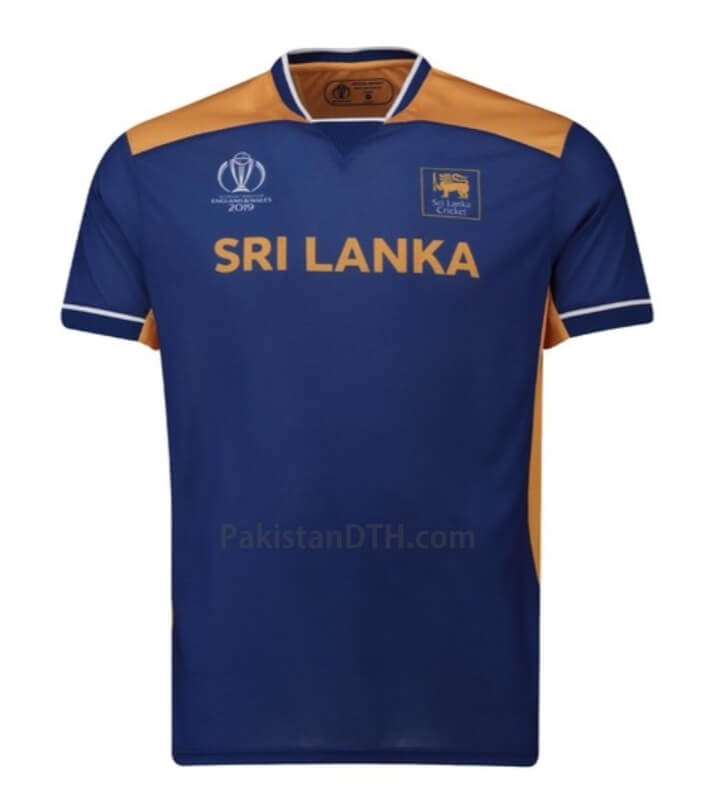 Sri Lanka Kit for Cricket World Cup 2019