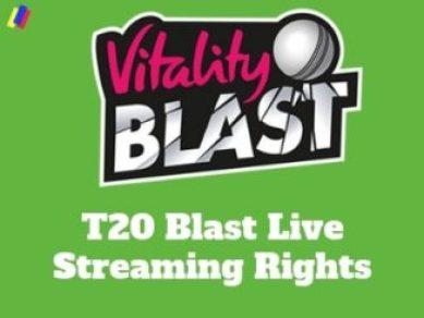 Vitality Blast T20 Live Broadcasting Channels