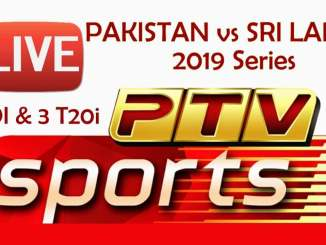 Pakistan vs Sri Lanka PTV Sports Live Link