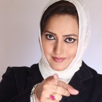 Pakistani Tv anchor Asma Shirazi
