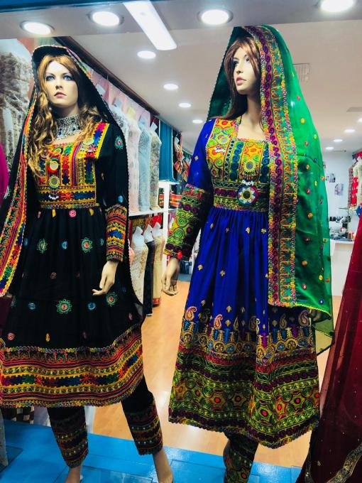 Afghan Clothes For Girls