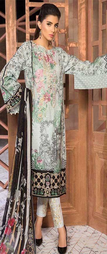 Baroque Linen Dresses 2019