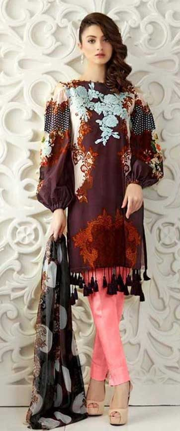 Gul Ahmed Linen Suits Online