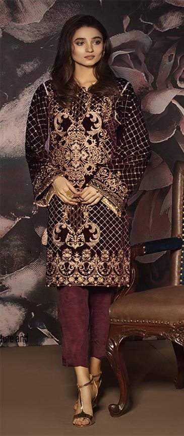 Gulal Velvet Collection 2019
