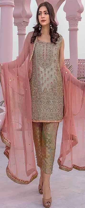 Aroma Latest chiffon dresses