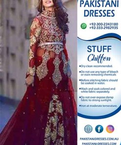 Pakistani Bridal Dresses of 2019