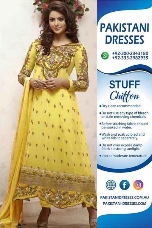 Indian Chiffon dresses online