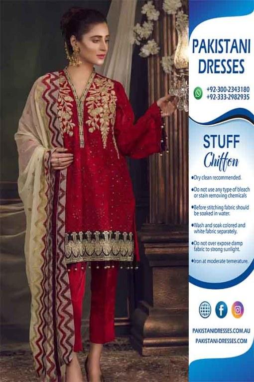 Maryam Maria chiffon dresses online