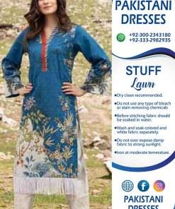 Safwa eid printed lawn volume 3 suit