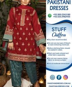 maria b chiffon dresses online