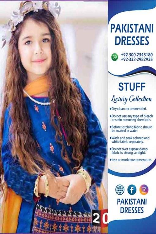Pakistani Kids Dresses