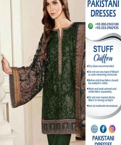 Broque Latest Chiffon Dresses