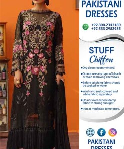 Gul Ahmad Chiffon Dresses Online