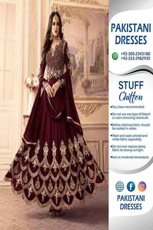 Indian Bridal Frock Dresses