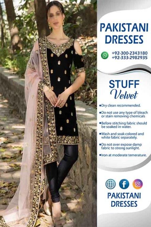 Indian Velvet Clothes Shopping