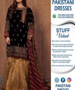 Maria B Velvet Clothes 2020