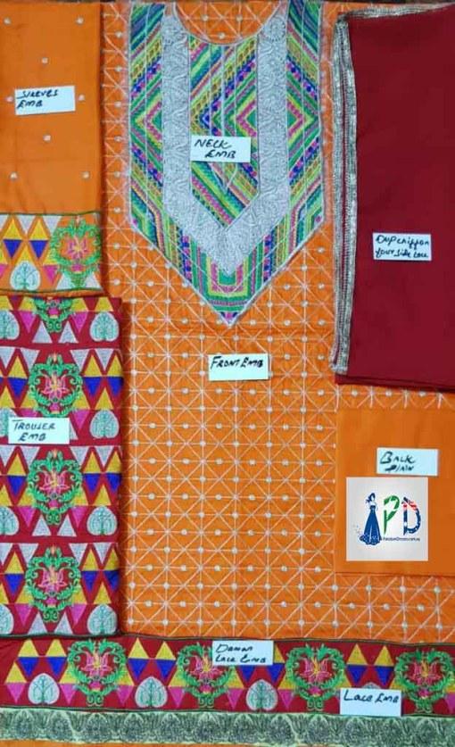Zahra Ahmed Cotton Dresses