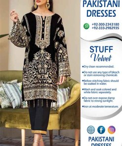 Buy Pakistani Velvet Dresses