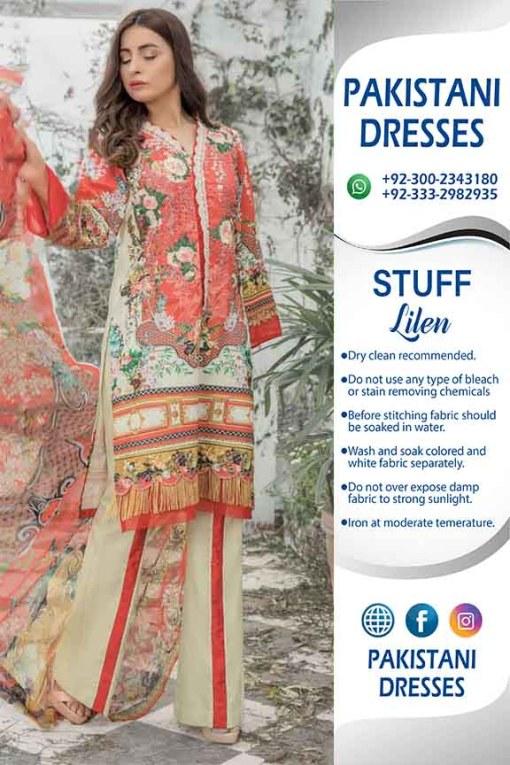 Firdous Linen Dresses 2020
