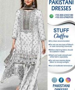 Pakistani Latest Chiffon Dresses