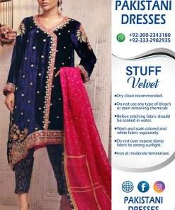Sana Abbas Velvet Dresses