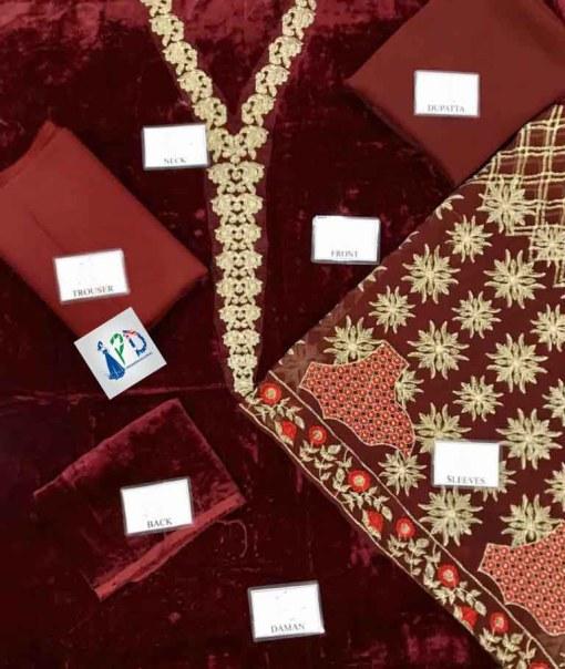 Pakistani Velvet Collection Online