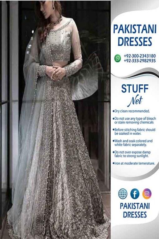 Maria B Latest Net Dresses
