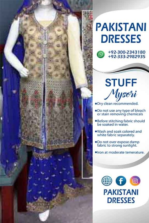 Pakistani Bridal Mysori Dresses