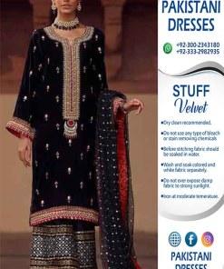 Annus Abrar Velvet Dresses Online