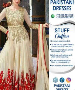 Indian Latest Chiffon Frock